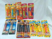 Pez 12 Pieces Sold In Bulk The Simpsons Pink Panther Star Wars Mar