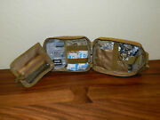 Tactical First Aid Kit Survival Molle Ripaway Outdoor Pouch Ifak Brown W/ Hyfin
