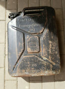 German Jerrycan Canister Ww2 Wehramcht Fuel 1943 20l 5galone