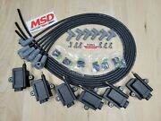 Smart Coil Igtb High Output Msd Spark Plug Wire 6 Cyl Kit No Igniter Required Bk
