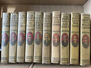 10 Antique Tom Swift By Victor Appleton Book Lot 1926