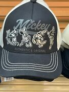Disney Parks Exclusive Mickey Authentic And Orignal Through The Years Adult Hat