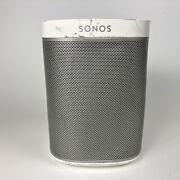 Sonos Play 1 White Voice Controlled Compact Wireless Smart Speaker With Cable