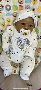 """Reborn Baby Girl Cuddle Baby 19"""" Ethnic Reborn Doll Inc Clothes And Blanket"""