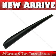 Fit For Audi A5 Coupe Rear Boot Trunk Lip Spoiler Wing Unpainted K-style