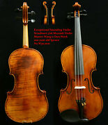 Exceptional Sounding Violin Master Wangand039s Proud Violin 200-y Old Spruce No.w30