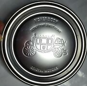Fisher Body Detroit Fort Street Plant Collectible Metal Plate Ashtray Michigan