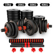 40kg Dumbbells Set Pair Of Gym Free Weight Barbell/dumbell Body Building Weights