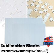 Usa 10set A3 Sublimation Blanks Jigsaw Puzzles 200 Pieces For Heat Press
