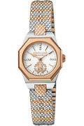 Roberto Cavalli By Franck Muller Rv2l055m0111 Silver Rose Gold Womenand039s Watch New