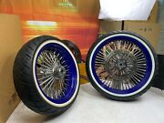 🔥dna Mammoth 52 Spoke 09-21 Harley 2021 Touring 18 Front And Rear Wheels Rims🔥