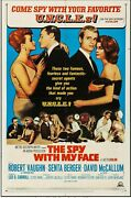 The Spy With My Facemgm, 1966 Us 1 Sheet 27 X 41 Man From Uncle