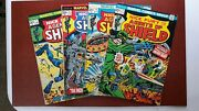 Nick Fury And His Agents Of Shield 1, 3, 4, 5.. Please See Photos. Nice Copies