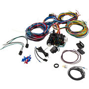 21 Circuit Wiring Wire Harness 17 Fuses Breaker For Chevy Universal Fuel Pump
