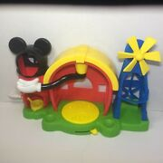 Disney Mickey Mouse Clubhouse Barnyard Dance Farm Playset Fisher-price Sound T8