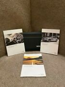 2014 Audi A8 S8 Owners Manual With Navigation Book, Warranty Guide And Case