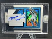 Julius Peppers Auto /25 2019 Panini One Dual Patch On Card Auto Encased Sp Bears