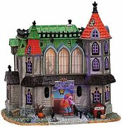 Lemax 75493 Werewolfand039s Den Spooky Town Retired Animated Building Halloween S O I