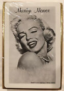 Marilyn Monroe 1956 Sealed Frank Powolny Fur And Pearls Photo Playing Cards Deck