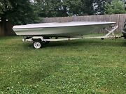 1973 Baja Runabout Hull With Trailer Restoration Project Bp020
