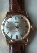 Longines Conquest 18k Solid Gold Menand039s Watch