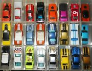Lot Of 45 All Hot Wheels Muscle Cars W/case Ford Chevy Mopar Pontiac Olds Merc