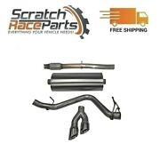 Corsa For 14-19 Silverado/sierra 304 Ss Cat-back Exhaust System Dual Side 14874