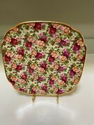 Royal Albert China Old Country Roses Chintz Collection Approximately 7 3/4 Inch