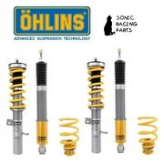Fos Ms00 Ohlins Coilovers Road And Track Ford Focus Rs 3anddeg Gen 2015 2018