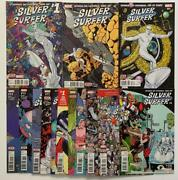 Silver Surfer 1 To 14 Complete Series Marvel 2016 Vf And Nm Condition Issues