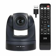 Video Conference Camera Hd 1080p Usb Ptz 20x Optical Zoom Webcam, Conference Cam