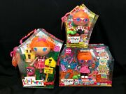 Lalaloopsy Bea And Specs Lot - Full Size 12, Little Sister, Silly Hair Nrfb