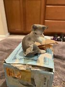 Lladro Porcelain Figurine 5236 Cat And Mouse