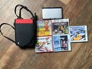 Nintendo 3ds Xl Silver Mario And Luigi Dream Team Limited Edition No Charger