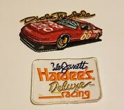 Vintage Lot Of 2 Nascar Patches