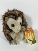 Nwt Folkmanis Hedgehog Hand Puppet Plush Adorable And Rolls Into Ball