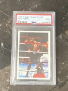 1987 Question Of Sport Mike Tyson Rookie Rc Card Psa 9 Only 17 Higher Invest 📈