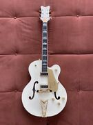 2019 Gretsch G6136-55vs White Falcon Vintage Select W/cadillac Tailpiece