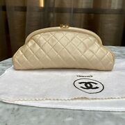 Champagne Gold Timeless Clutch