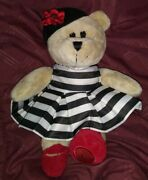 """Starbucks """"alice And Olivia"""" 2013 Holiday Bearista Bear Plush By Stacey Bendet"""