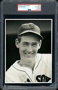 Ted Williams 1942 Boston Red Sox Type 1 Original Photo Psa/dna Crystal Clear