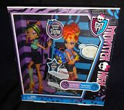 Monster High Werewolf Sister Pack Clawdeen And Howleen Wolf With Pet Nib Rare.