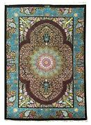 Very Fine 100 Silk Rug 3and039 X 4and0396and039and039