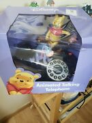 Vintage Disney Animated Talking Winnie The Pooh And Friends Telephone In Box