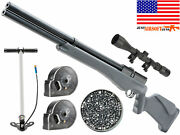 Umarex Origin Pcp Air Rifle With Hand Pump .22cal 1075fps + [scope And Pellet]