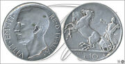 Italy - Coins Circulation- Year 1927 - Number Km00068.1-27 - Mbc 10 Lire 192
