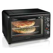 Hamilton Beach Countertop Oven With Convection And Rotisserie 1500 W Black 31101d