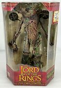 Rare New In Box Lord Of The Rings Two Towers Treebeard Action Figure Electronic