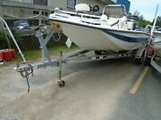 1998 19and039 Red Fin Center Console 188t Boat Hull...no Engine Or Trailer