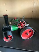 Vintage 1960's Mamod Steam Roller Toy Steam Traction Engine Tractor England